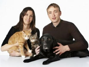 DVM Thea S. Kamstrup and DVM Kristian M. Kamstrup founders of Netveterinarian.com